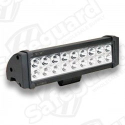 "SAE - 11.5"" Double Row LED Work Light - Flood"