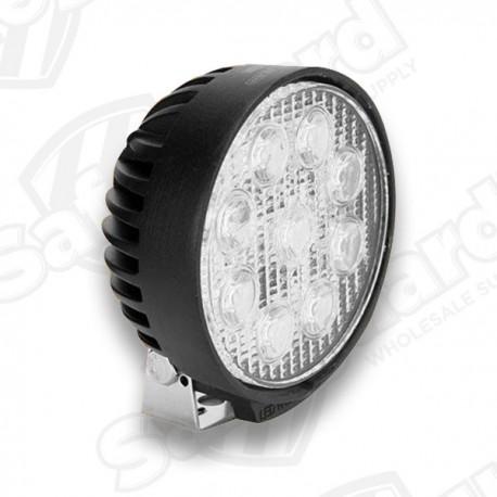 "SAE - SW12014-A - 4.5"" Round Spot LED Light"
