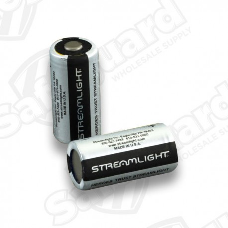 StreamLight Batteries -  2 Pack CR123A Lithium 3V Batteries