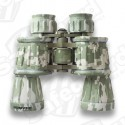 Humvee - 10x50 Compact Binocular, Digi Cam, Rubber Armored, Red Lens