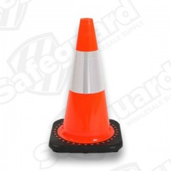 "JBC 18"" Reflective Traffic Cone"